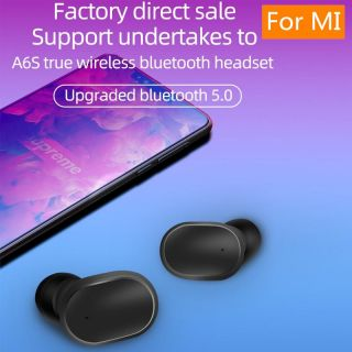 Wireless bluetooth earphone with mic HD sound for honor redmi