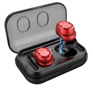 Bluetooth 5.0 Earbuds with Touch Control and True Bass 6D Stereo Waterproof